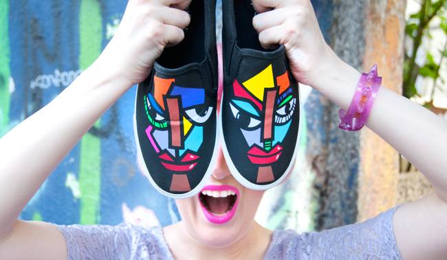 bucketfeet, artist designed shoes, sneakers