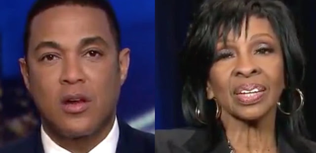 soul music icon Gladys Knight wipes the stupid smirk off of Don Lemon's face by describing how great a country we live in, and how she's honored to sing the national anthem for it!!!