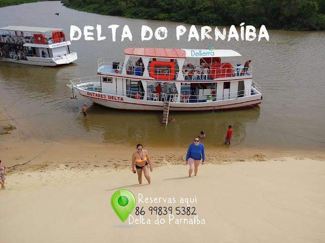 Passeio de Barco | Delta do Parnaíba
