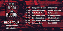 Blood for Blood Blog Tour