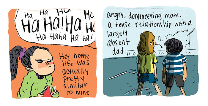 Brutally Honest Comic By An Artist Who Searched For Her Childhood Bully On Social Media And Was Surprised