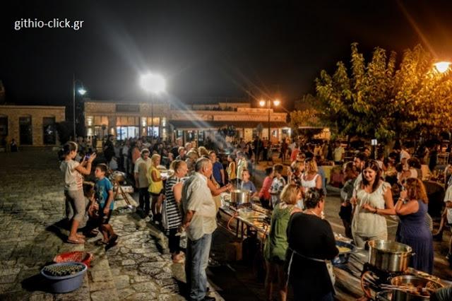 Βραδιά μανιάτικης γαστρονομίας και γευσιγνωσίας στην Αρεόπολη