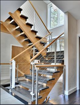 Fotos de escaleras for Precio escalera aluminio