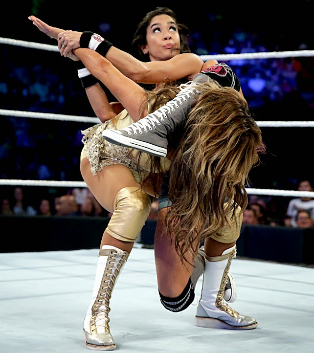 AJ-Rosa-WWE Divas