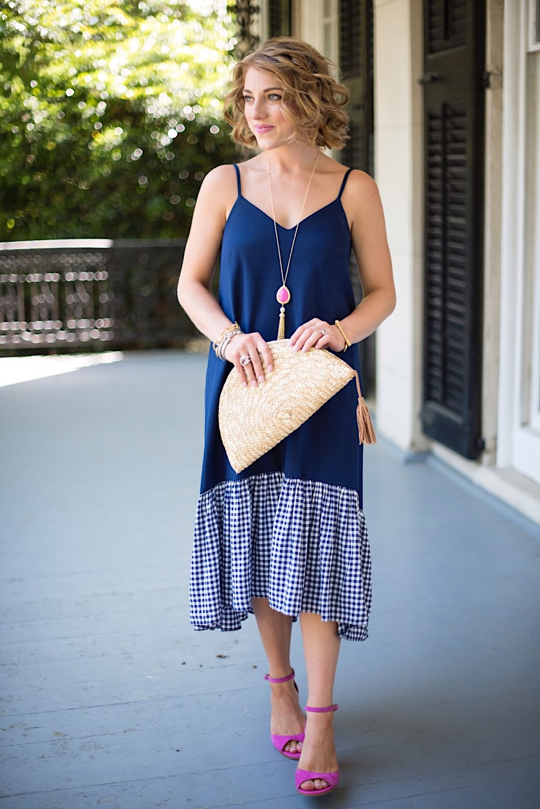 How to style gingham - Click through to see more on Something Delightful Blog