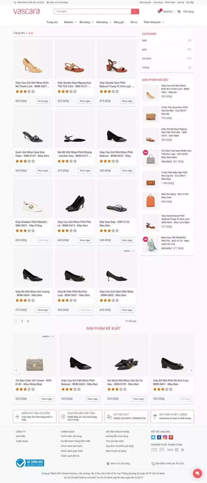 Theme blogspot bán hàng thời trang balo túi xách, giày dép, bóp ví nữ