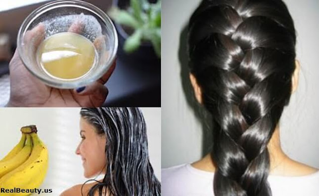 homemade hair mask