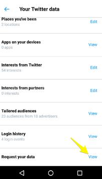Cara Mengambil Cadangan Akun Twitter dan Facebook Anda di Android, 5
