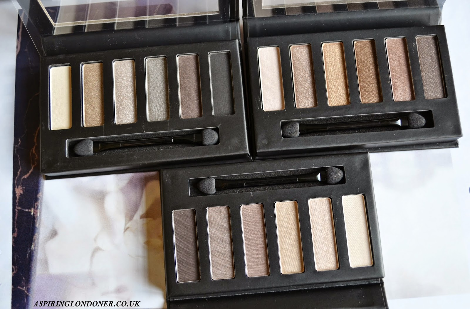 Collection Eyes Uncovered Palette Review - Aspiring Londoner