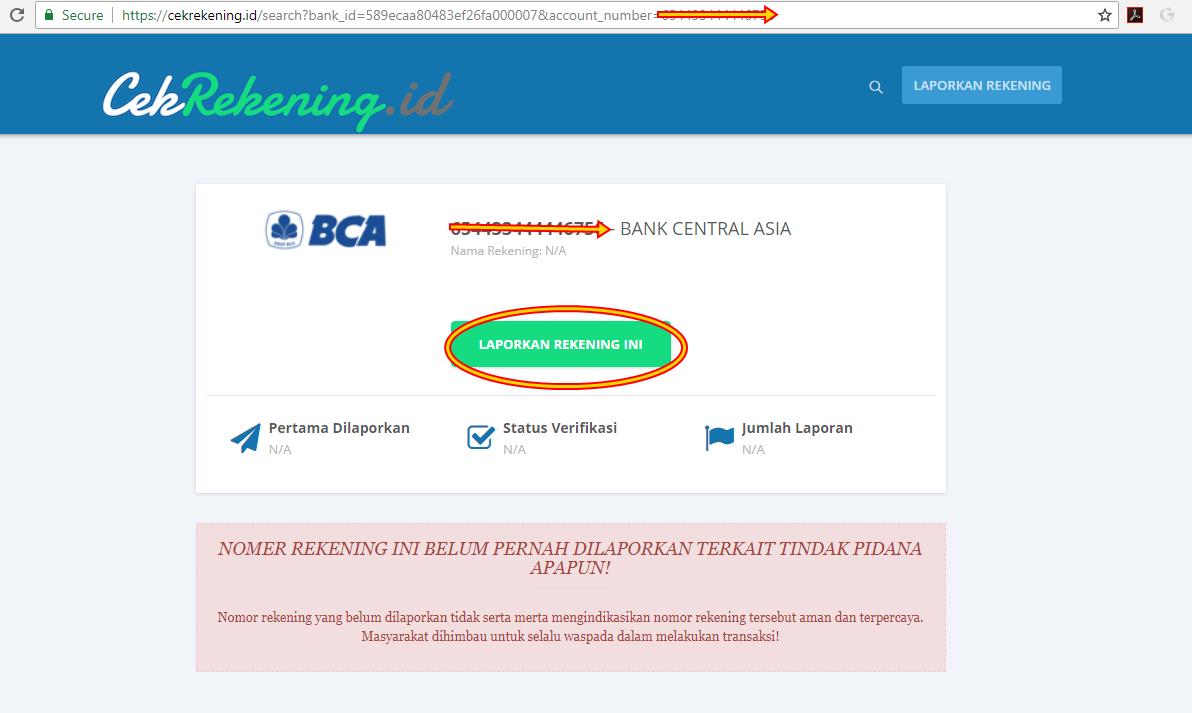 Situs Cek Rekening Online Viral Situs Apakah Sebenarnya Ini Informasi Selengkapnya Guys