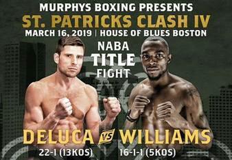 Mark Deluca vs. Jimmy Williams Poster