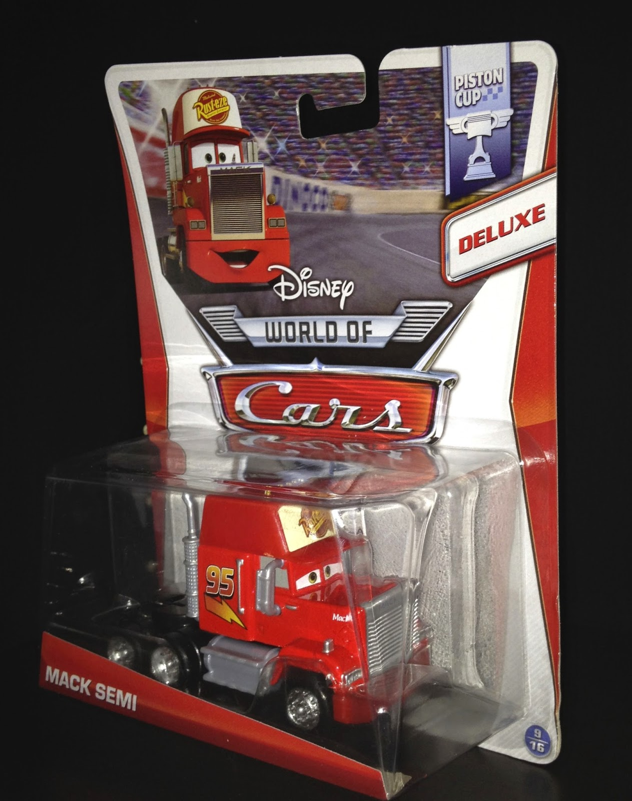 Dan The Pixar Fan Cars Mack Semi