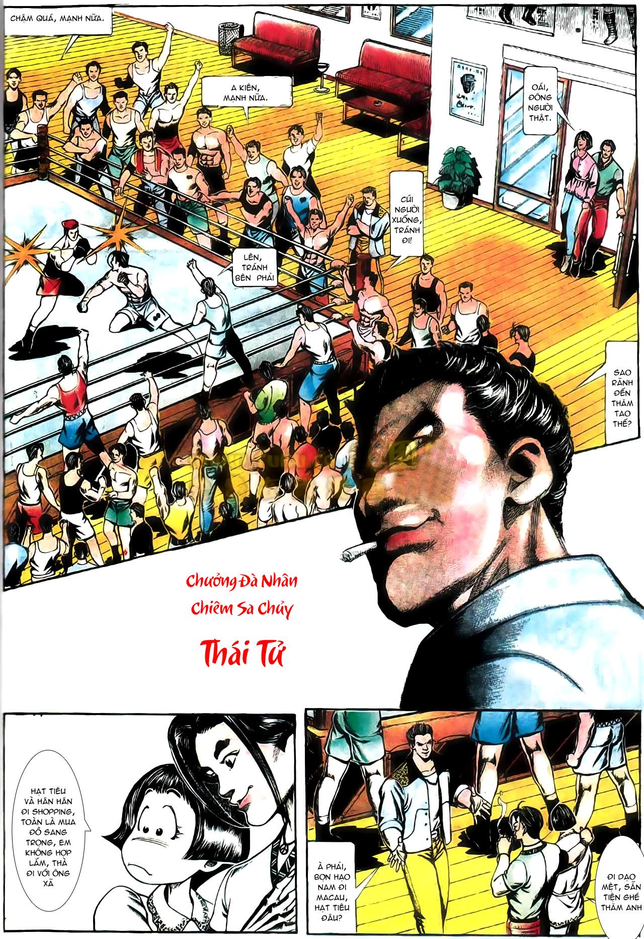 Người Trong Giang Hồ chapter 165: phong thái ngưu cô trang 16
