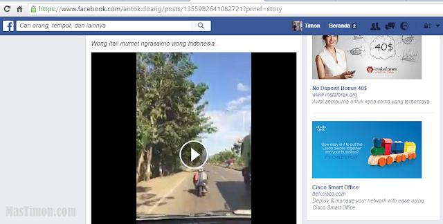Cara donlowad Vidio facebook tanpa Software dengan mudah dan cepat