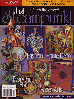 Leigh S-B published in Just Steampunk Vol 2!