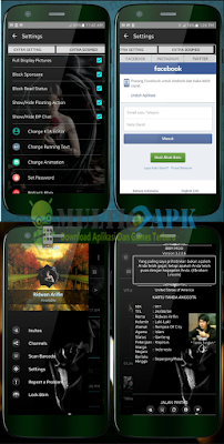 BBM Mod V With Toolbar Music v3.2.0.6 Apk