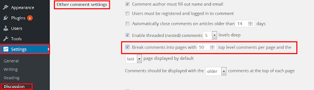 Add paginate to your WordPress Comments