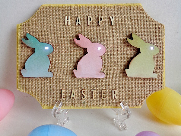 DIY: Chibitronics Light Up Happy Easter Sign