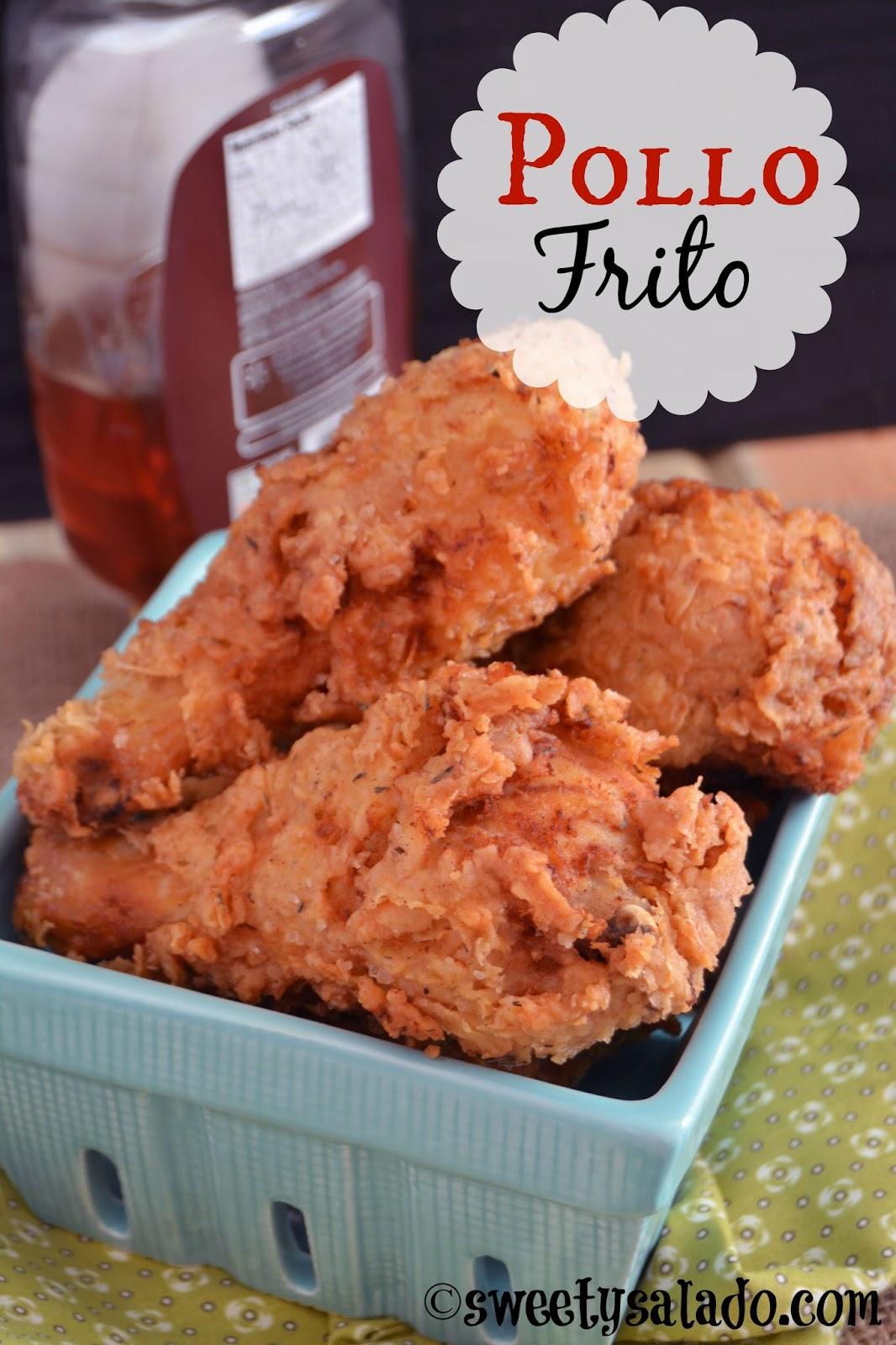 Pollo Frito Sweet Y Salado