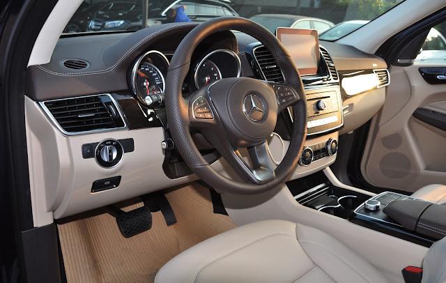 Nội thất Mercedes GLS 350 d 4MATIC thiết kế rộng rãi và thoải mái