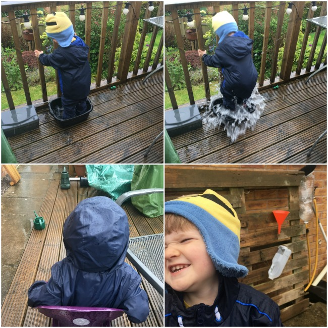 Our-weekly-journal-22nd-may-2017-collage-boy-in-rain-splashing-in-a-bowl-of-water