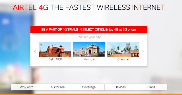 Bharti Airtel launches 4G trials for its customers in Delhi-NCR