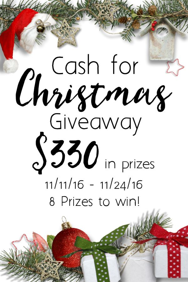 Sign up for christmas giveaway