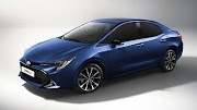 First images from the new Toyota Corolla Sedan
