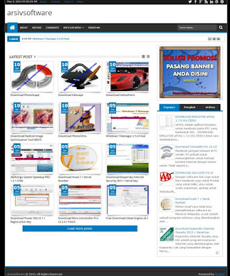 Beli Blog Arsiv Software