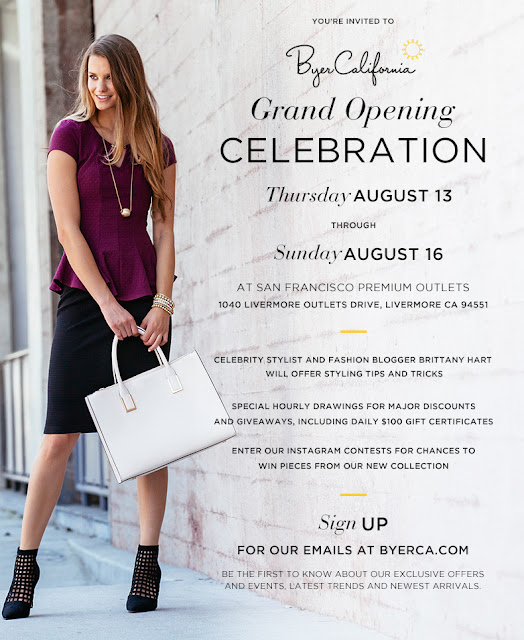 BYERCA Grand Opening Celebration San Francisco Premium Outlets