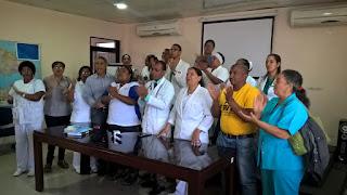 Gremios de enfermería dicen que en el hospital regional Dr Alejandro Cabral existe un déficit de más de 59 enfermeras