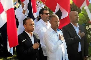 Alcaldía de Yaguate realiza varios actos en conmemoración al 204 aniversario del patricio Juan Pablo Duarte