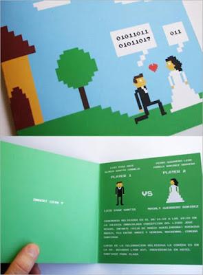 Contoh Model Undangan Pernikahan Unik