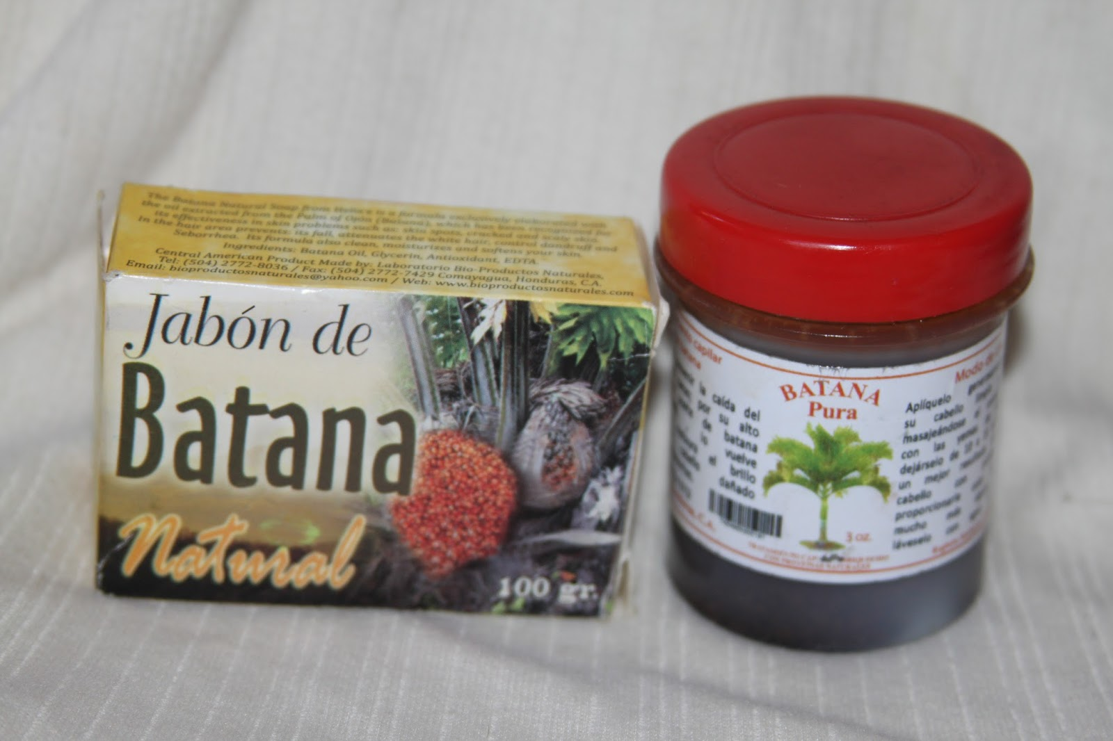 HN Treasures: Batana Oil & Batana Soap Ojon Bundle From La Mosquitia