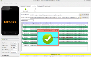 Cara Flash Advan S4E Via PC Mudah