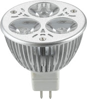 Halógena LED 6W MR16
