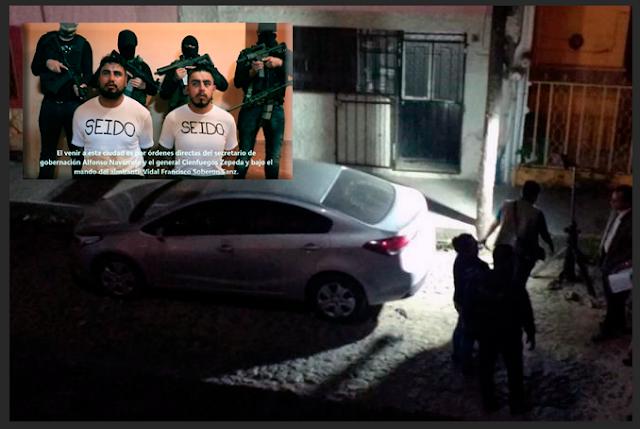 """CONFIRMAN EL C.J.N.G """"SACRIFICO"""" a AGENTES de la SEIDO,HALLAN RESTOS en CAJUELA de AUTO en NAYARIT"""