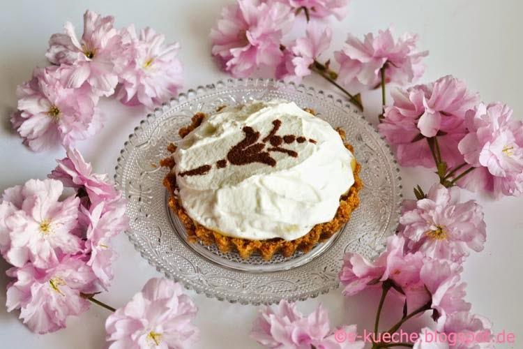 Banoffee Pie mit Banoffee Pie mit Eierlikörcremeanillecreme