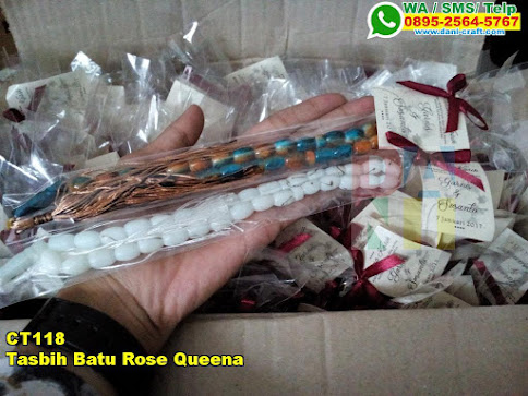 Grosir Tasbih Batu Rose Queena