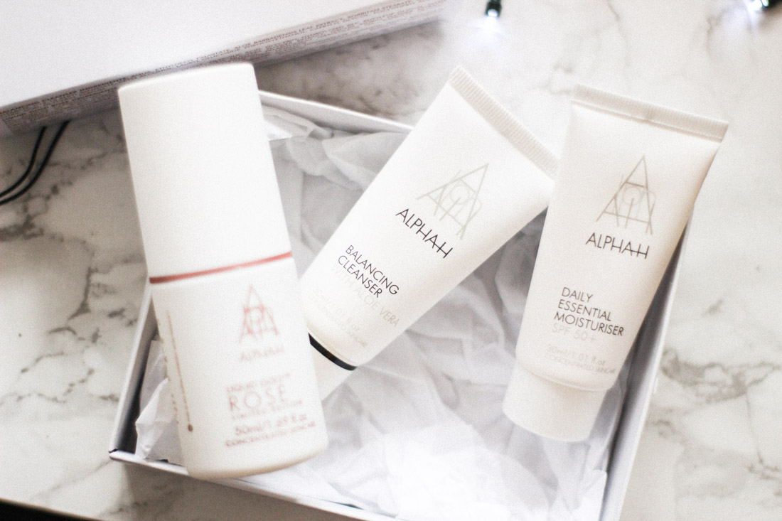 Alpha-H skincare starter set review and haul