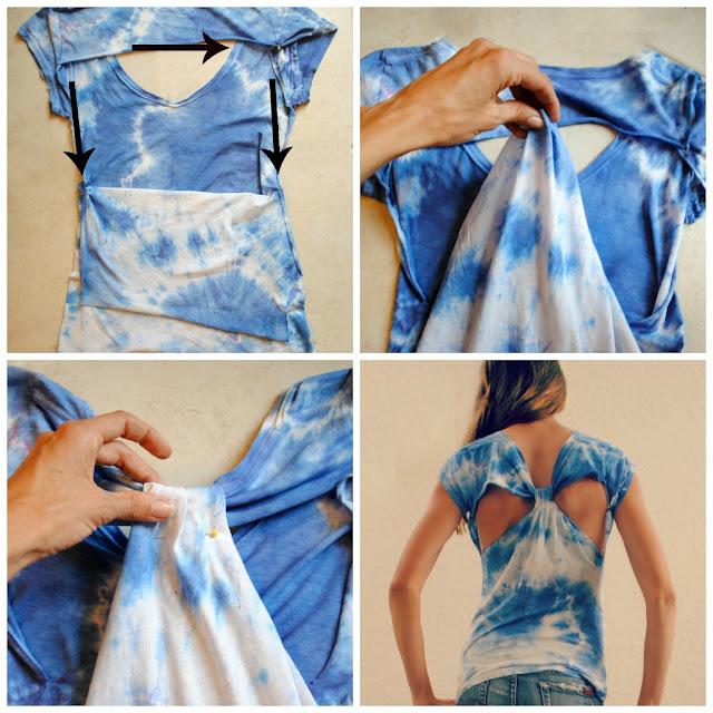 trash to couture diy t shirt refashion. Black Bedroom Furniture Sets. Home Design Ideas