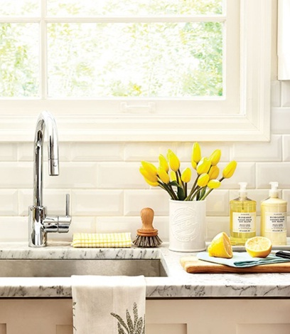 Jaga kebersihan dapur