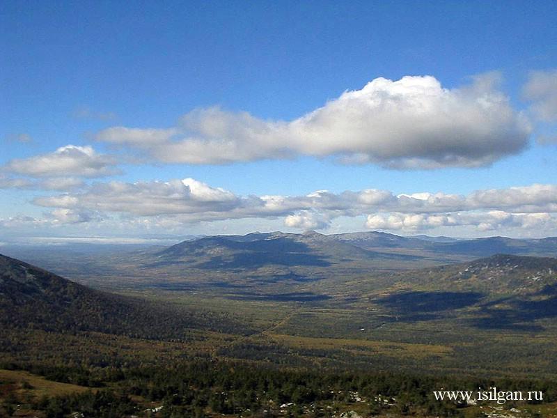 Гора Большой Нургуш (1406м). Национальный парк Зюраткуль ...