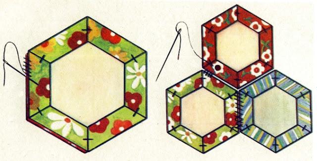 Лоскутный орнамент Французский букет