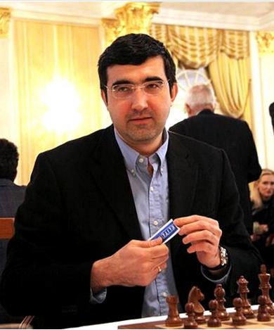 Vladimir Kramnik, champion du monde d'échecs de 2000 à 2007