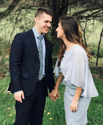 Carlin Bates and boyfriend Evan Stewart