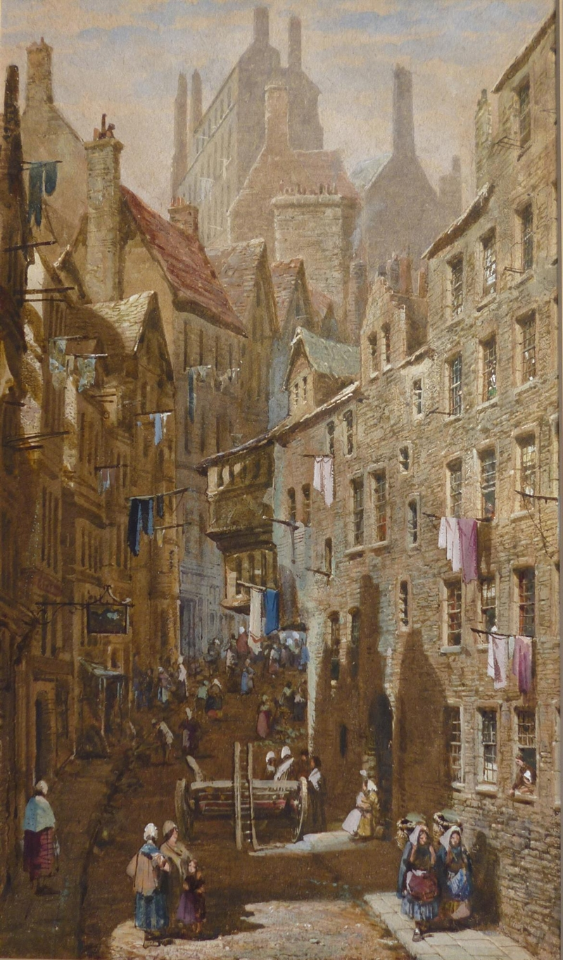 Louise Rayner 1832-1924 - British Cityscapes Watercolor painter