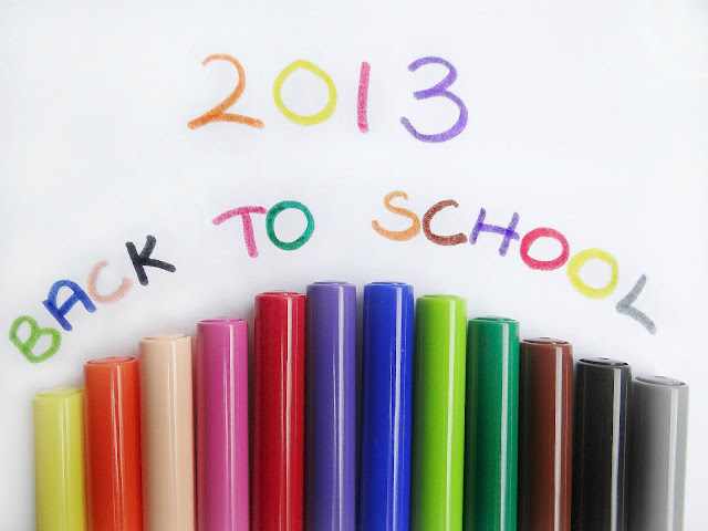 Back to School 2013, Stationery, Bags