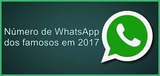 Grupo de famosos no WhatsApp - deixe seu numero