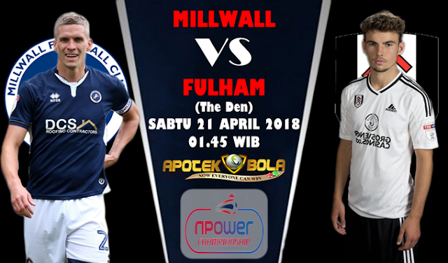 Prediksi Millwall vs Fulham 21 April 2018